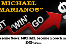 Michael became a coach in our SNG team